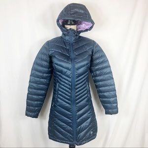 Mountain Hardwear Q-800 Shield Down Parka XS Blue